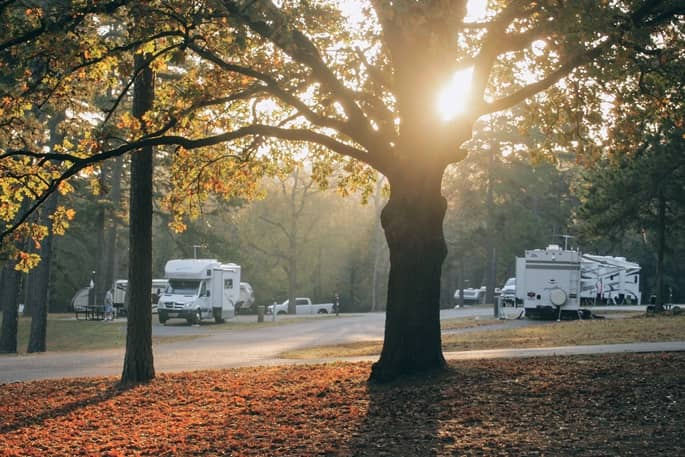 Summer RV Travel