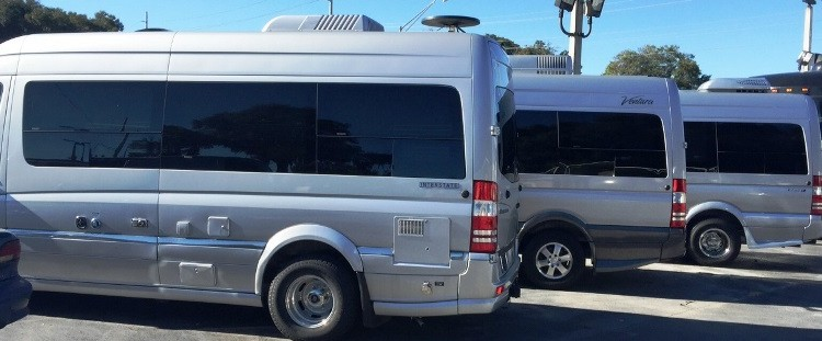 Mercedes Roadtrek, Airstream and Ventura
