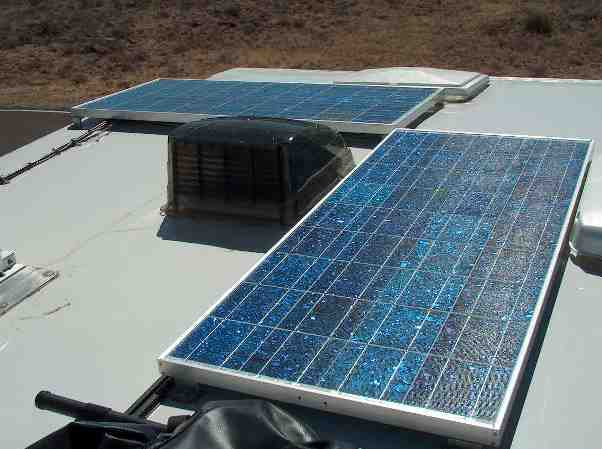 RV solar panel