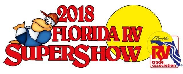 It's Almost Time for the 2018 Florida RV SuperShow!