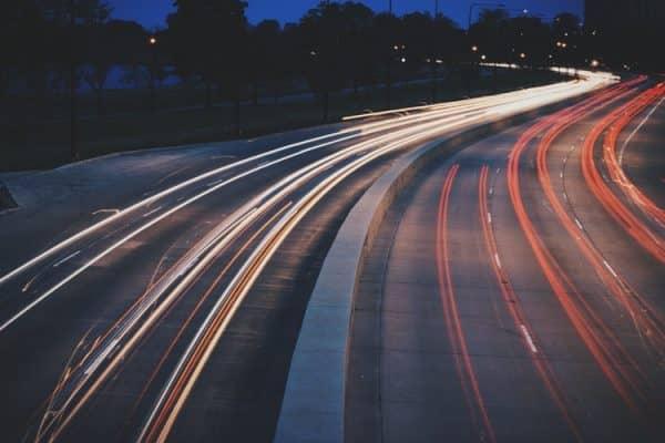 interstate driving