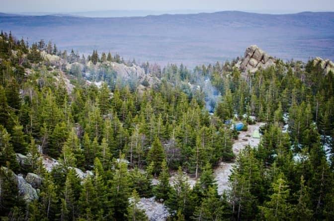 clean campsite