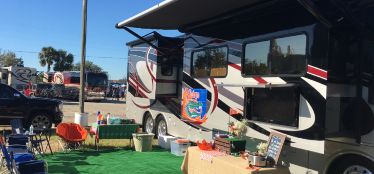 5 Reasons Why You Should Tailgate in Your RV