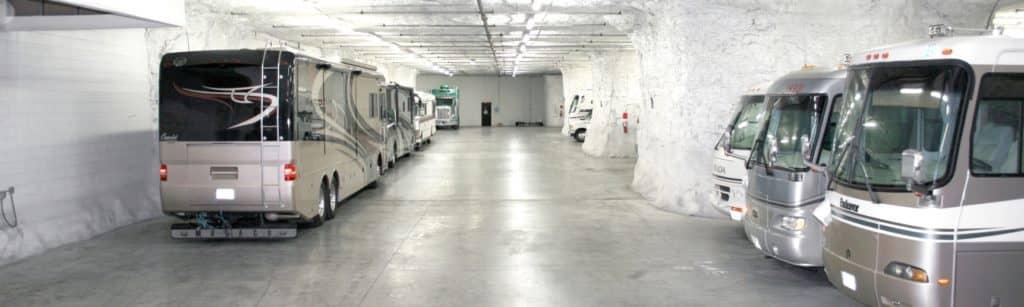 underground RV storage