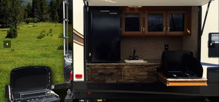 Is Having an Outdoor Kitchen in Your RV Worth It?